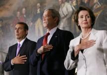 Boehner_-_Bush_-_Pelosi_20070329-6_d-0774-1-515h