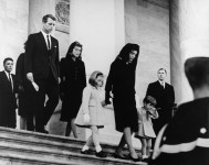 JFKs_family_leaves_Capitol_after_his_funeral_19631