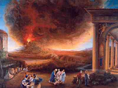 Pliny The Younger Describes 79 AD Eruption Of Mt Vesuvius