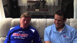 Dick Hoyt on the Running Chair That Make it Possible