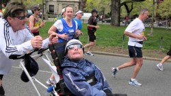 Team Hoyt on Running the Marathon Together