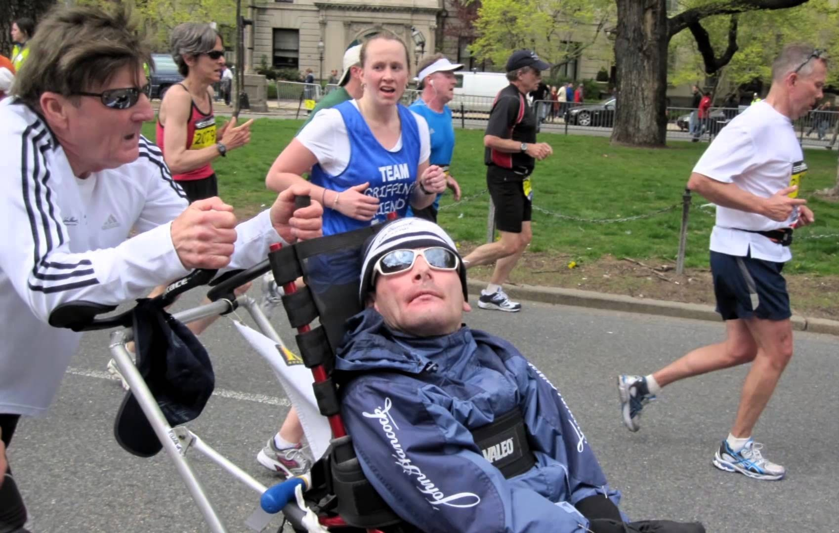 Dick and rick hoyt race