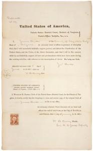 Oath of J. Hicks 09819_2005_001