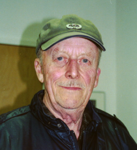 Frank McKee. Sergeant, Photo taken January 31, 2003.