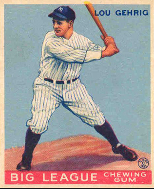Gehrig played his last game on April 30, 1939