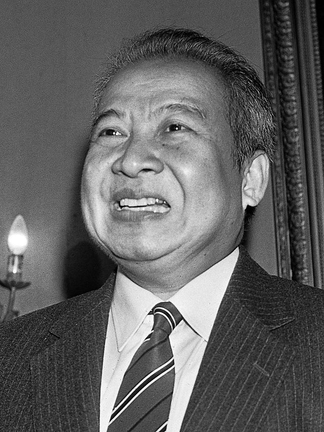 Norodom Sihanouk. 1983. Source: Anefo, Dutch National Archives.