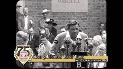 Opening of the Baseball Hall of Fame