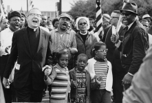 Photo of the Selma to Montgomery March. (1965). Source: Abernathy Family Photos.