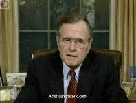 George H. W. Bush's Panama Invasion Address