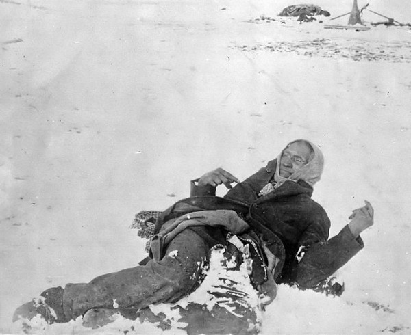 Lakota Chief Big Foot Dead After the Wounded Knee Massacre. Source: Wikipedia.