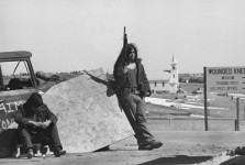 Protestors Occupy Wounded Knee. Source: Revolution Newspaper.