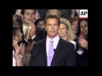 Arnold Schwarzenegger Elected Governor