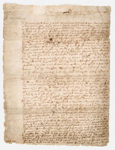 PROB1-4 (1) Will of William Shakespeare p1 of 3 1616